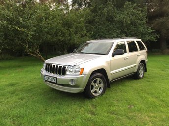 2005 JEEP GRAND CHEROKEE 3.0 V6 CRD LIMITED 5d AUTO 215 BHP £4250.00