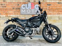 USED 2016 66 DUCATI SCRAMBLER FULL THROTTLE Stealth Edition