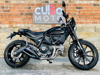 2016 DUCATI SCRAMBLER FULL THROTTLE £6490.00