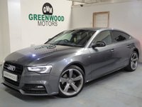 2015 AUDI A5 2.0 TDI Black Edition Plus Sportback Multitronic (s/s) 5dr £14790.00