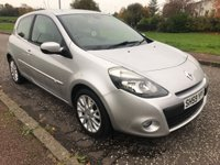 USED 2009 59 RENAULT CLIO 1.2 16v Dynamique 3dr Low Miles ! Full MOT !