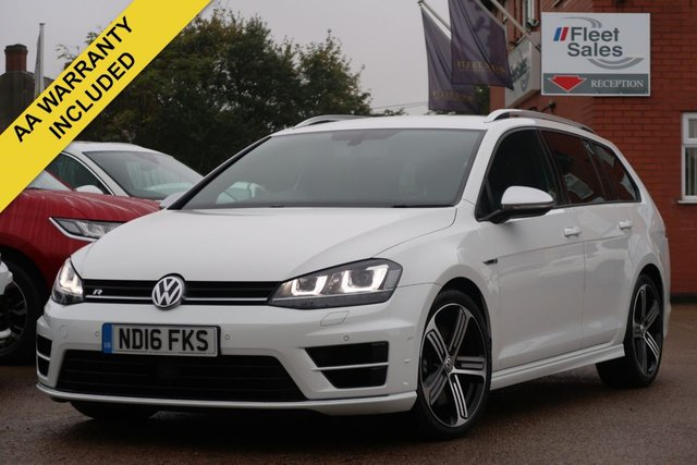 USED 2016 16 VOLKSWAGEN GOLF 2.0 R TSI DSG 5d AUTO 296 BHP AUTOMATIC DSG, FRONT AND REAR PARKING PILOT