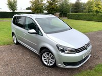 USED 2013 13 VOLKSWAGEN TOURAN 1.6 SE TDI BLUEMOTION TECHNOLOGY 5d 103 BHP Full VW History, Sat Nav Full VW And Specialist Service History, Recently Serviced, MOT 10/20, Sat Nav, Bluetooth Handsfree And Media Streaming, Front And Rear Parking Sensors, Parallel Park Assist ( This Car Parks Itself! ), Cd/Stereo/DAB/Aux In Sockets, Auto Lights On, Auto Wipers, Dimming Mirror, Tyre Pressure Monitor, Stop Start, £0 Road Tax, Cruise Control, x4 Elec Windows, Elec Mirrors, 7 Seats, Full Carpet Mat Set, X1 Owner, Bought Directly From A VW Dealer As One Of They're Part Exchanges, Choice Of Two Silver T