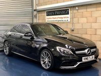 USED 2018 67 MERCEDES-BENZ C CLASS 4.0 C63 V8 BiTurbo AMG Saloon 4dr Petrol SpdS MCT (s/s) (476 ps) +FULL SERVICE+WARRANTY+FINANCE
