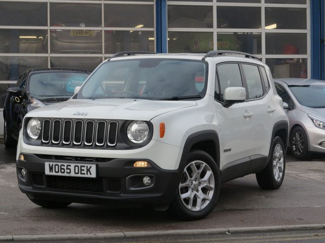 USED 2016 65 JEEP RENEGADE 1.4 LONGITUDE 5d 138 BHP
