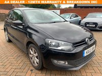 USED 2013 13 VOLKSWAGEN POLO 1.2 MATCH 3d 59 BHP Full Service History 6 Stamps