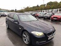 USED 2011 60 BMW 5 SERIES 3.0 525D SE TOURING 5d 202 BHP Carbon Black met, Cream leather, Professional Sat Nav & more