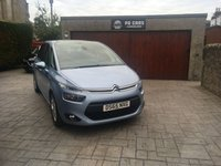 USED 2015 65 CITROEN C4 PICASSO 1.6 BLUEHDI VTR PLUS EAT6 5d AUTO 118 BHP LOW MILES. FULL RECORDED SERVICE HISTORY. VERY ECONOMICAL