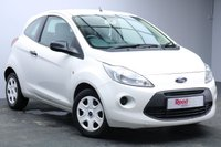 USED 2012 12 FORD KA 1.2 STUDIO 3d 69 BHP FULL SERVICE HISTORY+TINTED GLASS+AUX+START/STOP