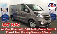 USED 2018 18 VAUXHALL VIVARO  1.6 CDTI 2900 SPORTIVE CDTI 120 BHP in Metallic Grey with SATNAV, Air Conditioning, Bluetooth, Cruise Control, Rear Parking Sensors and more ** Drive Away Today** Over The Phone Low Rate Finance Available, Just Call us on 01709 866668 **