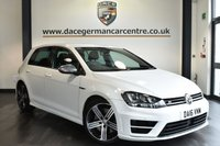 "USED 2016 16 VOLKSWAGEN GOLF 2.0 R DSG 5DR 298 BHP full vw service history Finished in a stunning pure styled with 18"" alloys. Upon opening the drivers door you are presented with immaculate half suede upholstery, full vw service history, bluetooth, xenon lights, LED running lights, dab radio, adaptive cruise control, sport seats, ambient interior lighting, climate control, usb/aux port, heated electric folding mirrors, parking sensors"