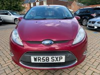 USED 2008 58 FORD FIESTA 1.6 TITANIUM 3d 118 BHP SH+ALLOYS+PRIVACY+B/T+MOT