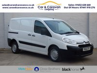 USED 2016 16 CITROEN DISPATCH 1.6 1000 L1H1 ENTERPRISE HDI 89 BHP One Owner Full Dealer History Buy Now, Pay Later Finance!