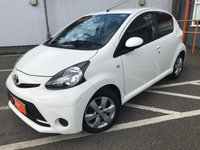 USED 2014 14 TOYOTA AYGO 1.0 VVT-I MOVE WITH STYLE 5d 68 BHP IDEAL FIRST CAR!!!!