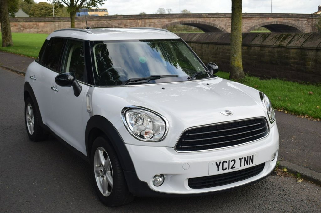 USED 2012 12 MINI COUNTRYMAN 1.6 ONE D 5d HATCHBACK 90 BHP SERVICE HISTORY, ALLOYS, AIR CON, REMOTE LOCKING