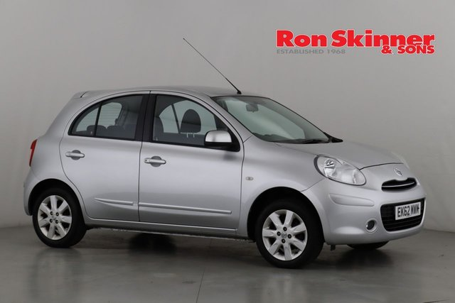 View our 2012 62 NISSAN MICRA 1.2 ACENTA 5d 79 BHP