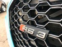 USED 2015 65 AUDI A3 2.5 RS3 SPORTBACK QUATTRO 5d AUTO [Riviera Blue] ***SportsExhaust,BlackPack,HeatedSeats,RivieraBlue,B&O***