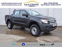 USED 2015 15 FORD RANGER 2.2 XL 4X4 DCB TDCI 150 BHP One Owner Full FORD History Buy Now, Pay Later Finance!