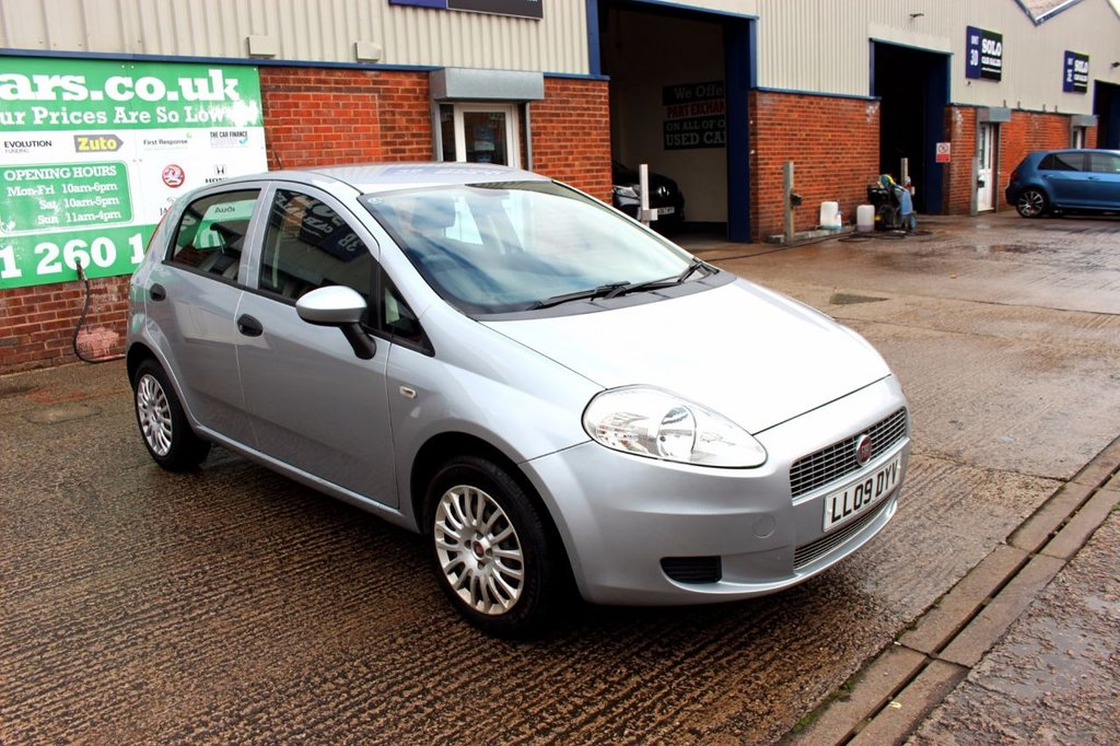 USED 2009 09 FIAT GRANDE PUNTO 1.4 ACTIVE 8V 5d 77 BHP +TRADE CLEARANCE +OCT 2020 MOT