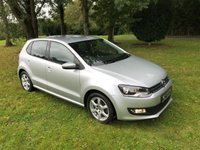 USED 2011 VOLKSWAGEN POLO 1.2 MODA A/C 5d 60 BHP **EXCELLENT FINANCE PACKAGES**FULL STAMPED SERVICE HISTORY**LOW RUNNING COSTS**