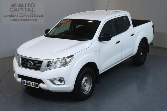 2016 66 NISSAN NP300 NAVARA 2.3 DCI VISIA 4X4 160 BHP ULEZ COMPLIANT AIR CONDITIONING, REAR TOW FITTED