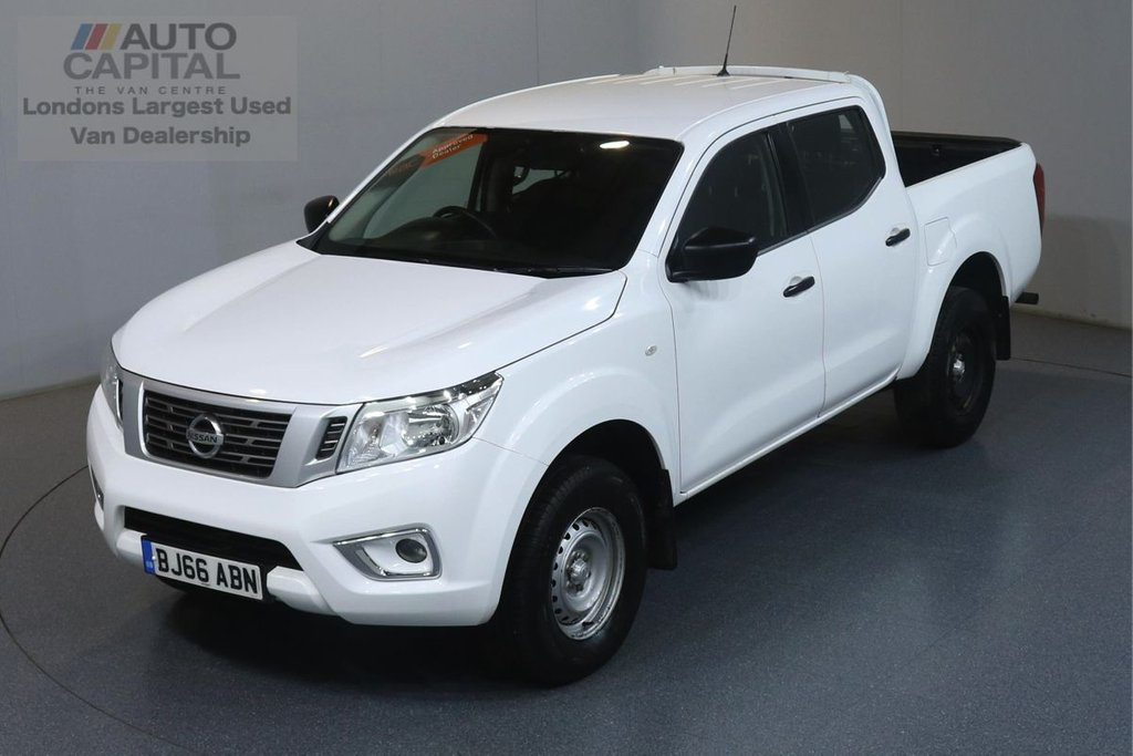 USED 2016 66 NISSAN NP300 NAVARA 2.3 DCI VISIA 4X4 160 BHP ULEZ COMPLIANT AIR CONDITIONING, REAR TOW FITTED