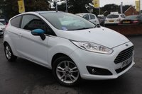 USED 2016 66 FORD FIESTA 1.2 ZETEC WHITE EDITION SPRING 3d 81 BHP JUST 1 OWNER FROM NEW - FULL FORD MAIN DEALER SERVICE HISTORY