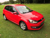 USED 2014 63 VOLKSWAGEN POLO 1.2 MATCH EDITION 3d 59 BHP **EXCELLENT FINANCE PACKAGES**SERVICE RECORD**CRUISE CONTROL**BLUETOOTH**