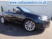 2011 VOLKSWAGEN EOS 1.4 SE TSI BLUEMOTION TECHNOLOGY 2d 121 BHP £8295.00