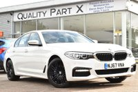 USED 2017 67 BMW 5 SERIES 2.0 530e iPerformance 9.2kWh M Sport Auto (s/s) 4dr 1 OWNER,SATNAV,BLUETOOTH,DAB
