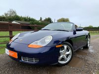 USED 2001 Y PORSCHE BOXSTER 2.7 24V 2d 217 BHP CLUTCH & RMS REPLACED AT 58K FULL HISTORY GLASS REAR SCREEN