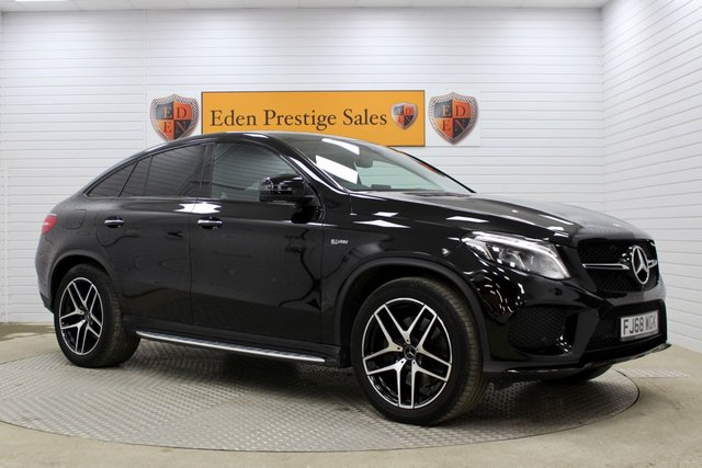 USED 2018 68 MERCEDES-BENZ GLE-CLASS 3.0 AMG GLE 43 4MATIC NIGHT EDITION 4d AUTO 385 BHP 360 CAM*SUNROOF*NAV*LEATHER