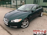 USED 2009 09 JAGUAR XF 3.0 V6 S PREMIUM LUXURY 4d 275 BHP SAT NAV LEATHER FSH STUNNING GREEN MET WITH FULL CREAM LEATHER TRIM. ELECTRIC MEMORY HEATED SEATS. CRUISE CONTROL. 20 INCH ALLOYS. COLOUR CODED TRIMS. PARKING SENSORS. BLUETOOTH PREP. CLIMATE CONTROL. TRIP COMPUTER. R/CD PLAYER. MFSW. MOT 05/20. FULL SERVICE HISTORY. SUV4X4 USED CAR CENTRE - LS23 7FQ. TEL 01937 849492 OPTION 1