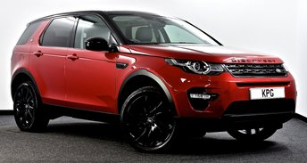 2015 LAND ROVER DISCOVERY SPORT 2.0 TD4 HSE Black Auto 4WD (s/s) 5dr 7 Seat £24495.00