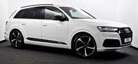 USED 2019 68 AUDI Q7 3.0 TDI V6 50 Black Edition Tiptronic quattro (s/s) 5dr £66k New, Pan Roof, Virtual CP