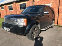 USED 2006 06 LAND ROVER DISCOVERY 2.7 3 TDV6 7 SEATS 5d 188 BHP LEATHER MOT 07/20 7 SEATS. BLACK MET WITH FULL BLACK LEATHER TRIM. 19 INCH ALLOYS. COLOUR CODED TRIMS. SIDE STEPS. PRIVACY GLASS. PARKING SENSORS. CLIMATE CONTROL. R/CD PLAYER. MFSW.  MOT 07/20. AGE/MILEAGE RELATED SALE. PART EXCHANGE CLEARANCE CENTRE - LS24 8EJ. TEL 01937 849492 OPTION 4