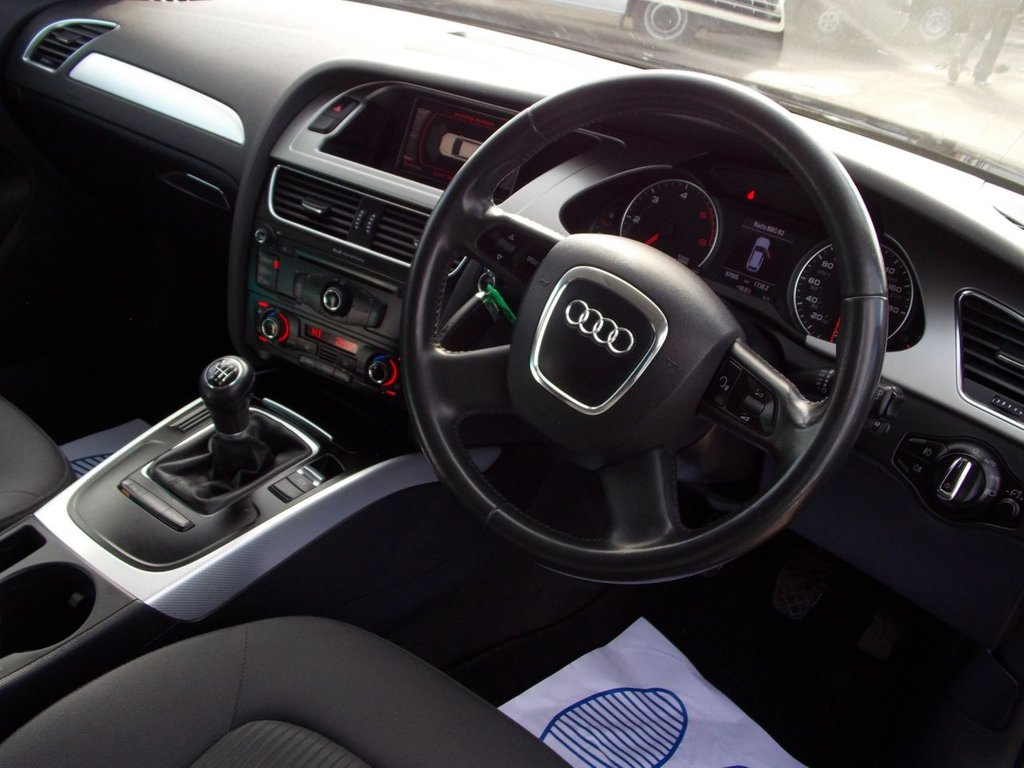 USED 2009 09 AUDI A4 2.0 AVANT TDI SE DPF 5d 141 BHP