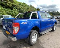 USED 2017 67 FORD RANGER 2.2 LIMITED 4X4 DCB TDCI 4d 148 BHP