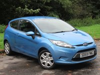 USED 2009 59 FORD FIESTA 1.2 STYLE 3d 81 BHP LOW MILEAGE STARTER CAR