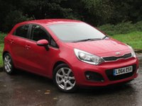 USED 2014 64 KIA RIO 1.4 CRDI 3 ECODYNAMICS 5d 88 BHP BALANCE OF MANUFACTURERS WARRANTY