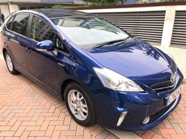 2012 62 TOYOTA PRIUS PLUS 1.8 T4 5d AUTO 99 BHP