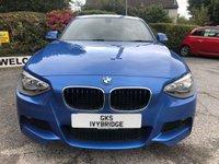 USED 2014 14 BMW 1 SERIES 2.0 118D M SPORT 5d 141 BHP ** FULL BMW SERVICE HISTORY + £30 ROAD TAX **
