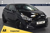 USED 2017 17 PEUGEOT 208 1.2 PURETECH BLACK EDITION 3d 80 BHP (ONE OWNER)