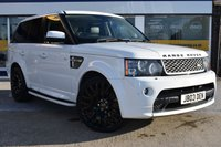 USED 2011 61 LAND ROVER RANGE ROVER SPORT 3.0 SDV6 AUTOBIOGRAPHY SPORT 5d 255 BHP NO DEPOSIT FINANCE AVAILABLE