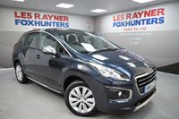 USED 2015 65 PEUGEOT 3008 1.6 BLUE HDI S/S ACTIVE 5d AUTO 120 BHP Low miles, Automatic, Cruise control, Bluetooth
