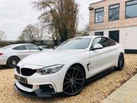 USED 2017 17 BMW 4 SERIES 3.0 430D XDRIVE M SPORT 2d 255 BHP