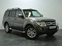 USED 2014 14 MITSUBISHI SHOGUN 3.2 DI-D SG3 5d AUTO 197 BHP 1 OWNER + REVERSING CAMERA + FULL HEATED LEATHER + SAT NAV