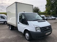 USED 2011 11 FORD TRANSIT T350 MWB BOX VAN WITH TAIL LIFT 115PS *ONLY 32K MILES!*