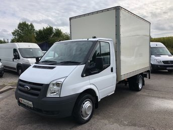 2011 FORD TRANSIT T350 MWB BOX VAN WITH TAIL LIFT 115PS £5950.00