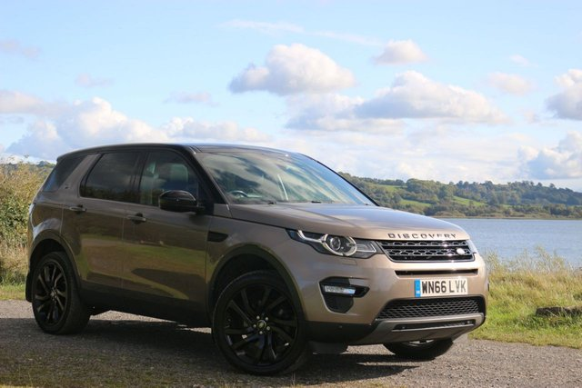 2016 66 LAND ROVER DISCOVERY SPORT 2.0 TD4 HSE LUXURY 5d AUTO 180 BHP